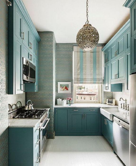7 хитростей интерьера для маленькой кухни