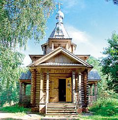 Храм-часовня на берегу Светлояра
