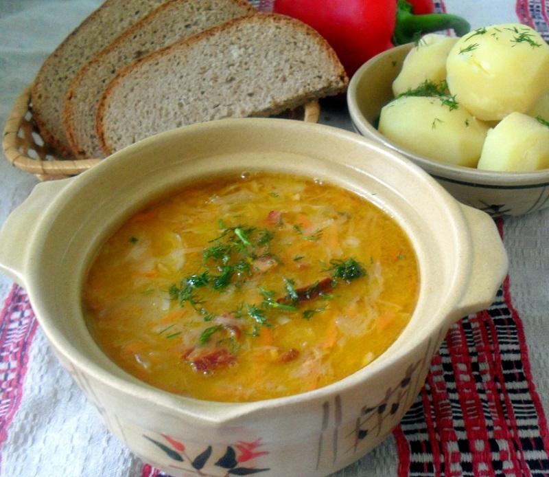 суп из капусты и моркови