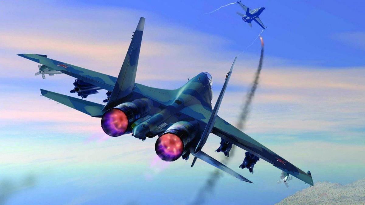 Су-27 вышел победителем в сх…