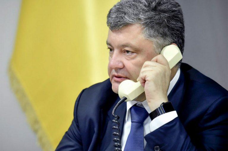 Тайный разговор Порошенко с Путиным