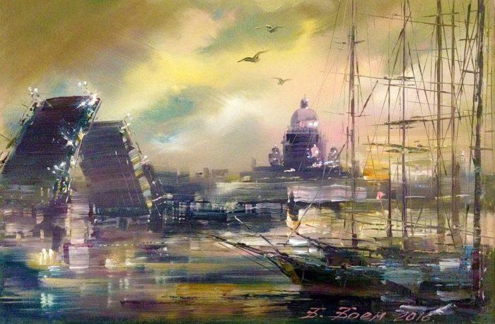 «Северная Венеция» глазами современных художников: Путешествие по живописным мостам Санкт-Петербурга