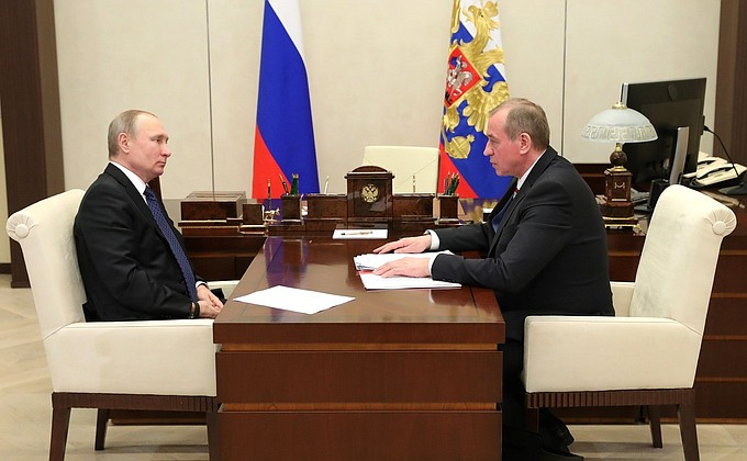 Встреча с губернатором Иркутской области Сергеем Левченко - НОВОСТИ НЕДЕЛИ