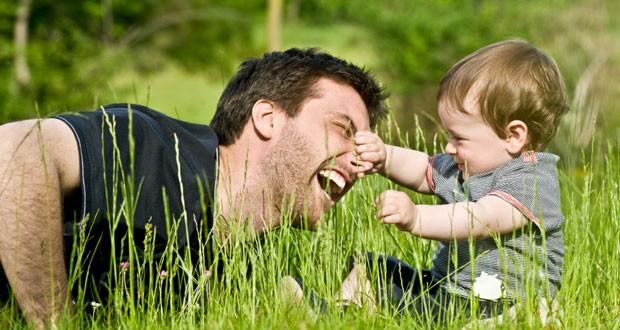 Общение ребенка с отцом