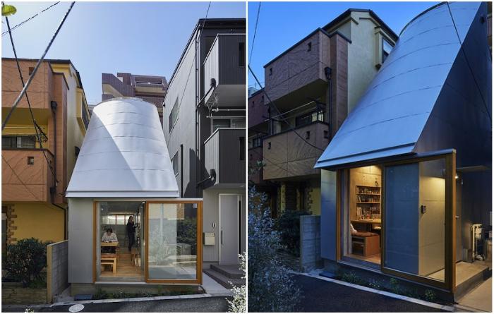 Японский лайфхак: как жить в доме размером с гараж (16 фото)