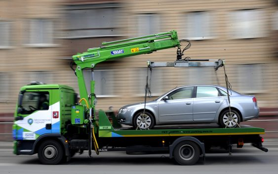 Машины, попавшие на штрафпло…
