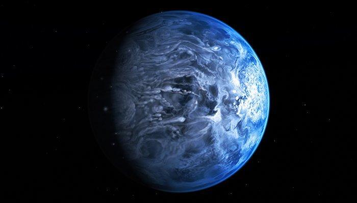 8. Hd 189733b -  вселенная, интересное, космос, подборка, экзопланета