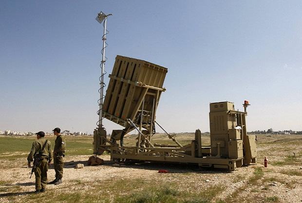 Первый настоящий опыт применения системы ПРО Iron Dome в Израиле