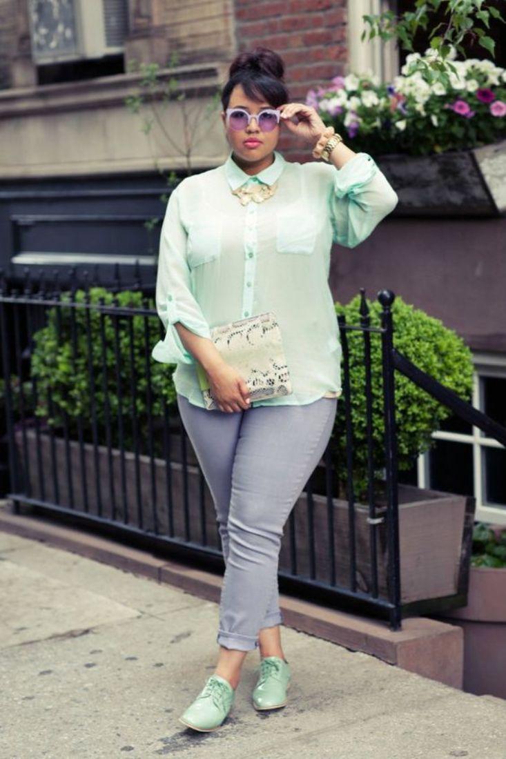 Подбираем джинсы для полных женщин по типу фигуры: длину, посадку, фасон