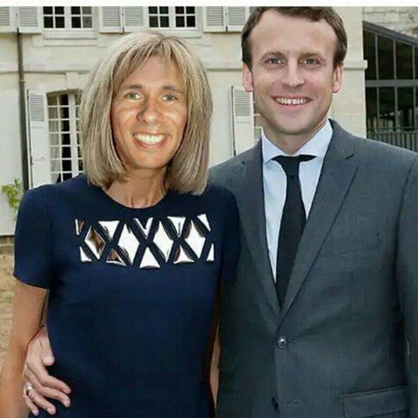 Глядя на жену президента Франции Макрона, складывается ощущение что Панин на спец задании