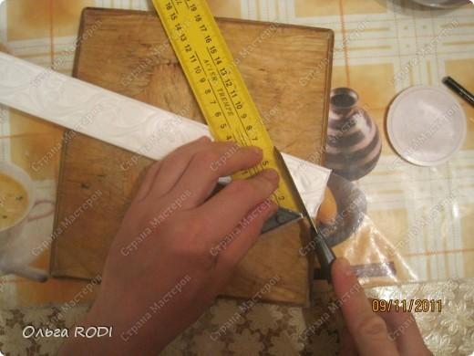 Рамочка из потолочного плинтуса. 33867