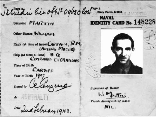 Как капитан Уильям Мартин провел всю нацистскую Германию