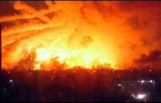 Украинцы защищают Россию от обвинений во взрывах складов с боеприпасами