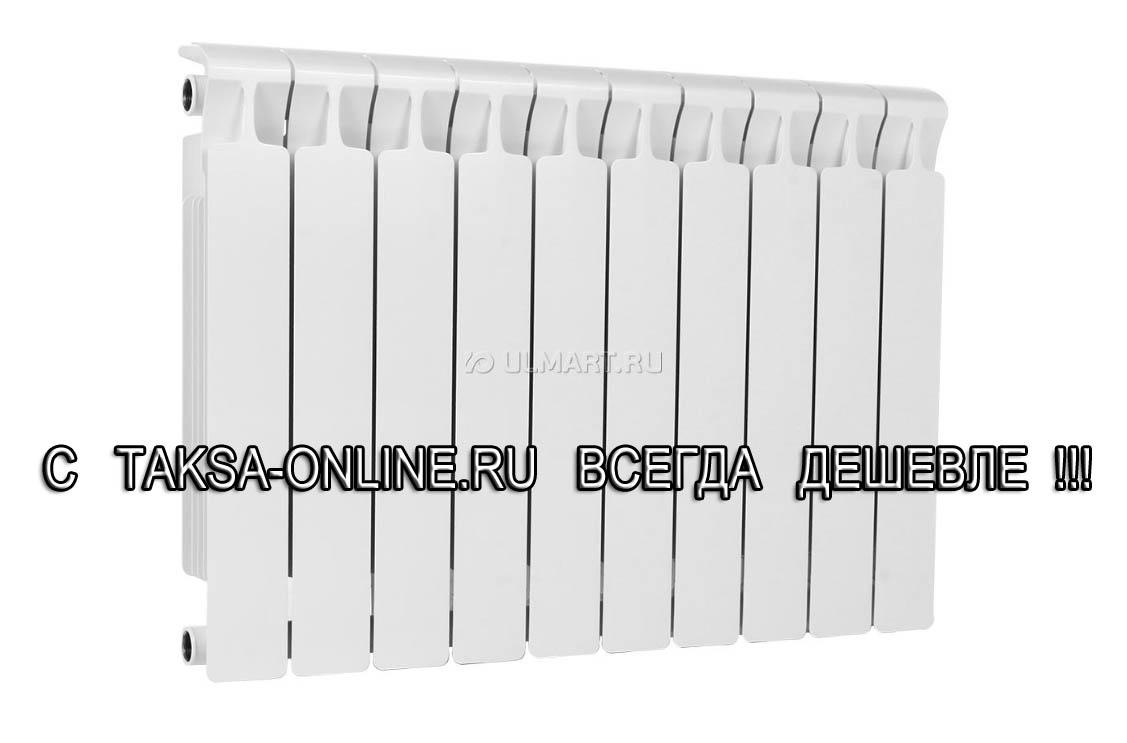 Радиатор биметаллический Rifar Monolit, 10 секций, 500/100