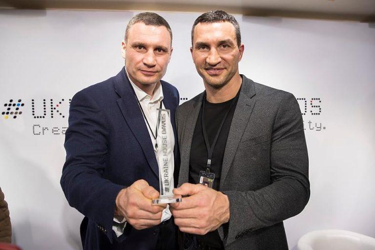 Братья Кличко отжигают в Давосе