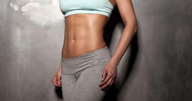 Плоский живот – подборка упражнений для тонкой талии и плоского живота