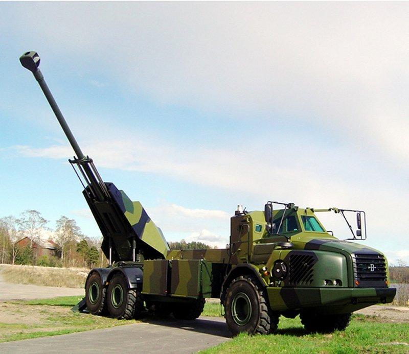 Self propelled artillery