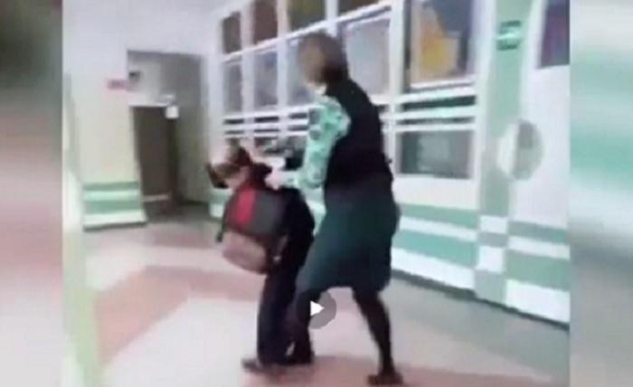 Наконец-то малолетнему хулигану дали эффективный урок воспитания