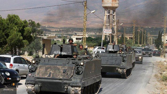 Достойный ответ ИГ от Ливана: огромная колонна «Нагманов» попала в кадр