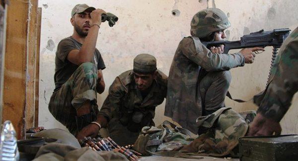 Сирийская армия атаковала позиции протурецких боевиков взападном Алеппо