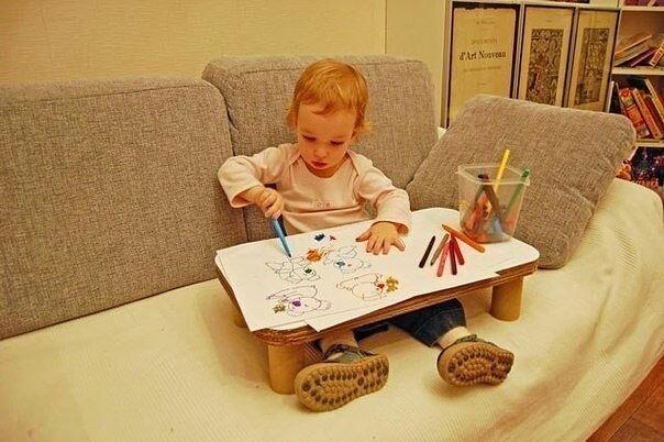 """Детский """"надиванный"""" столик …"""