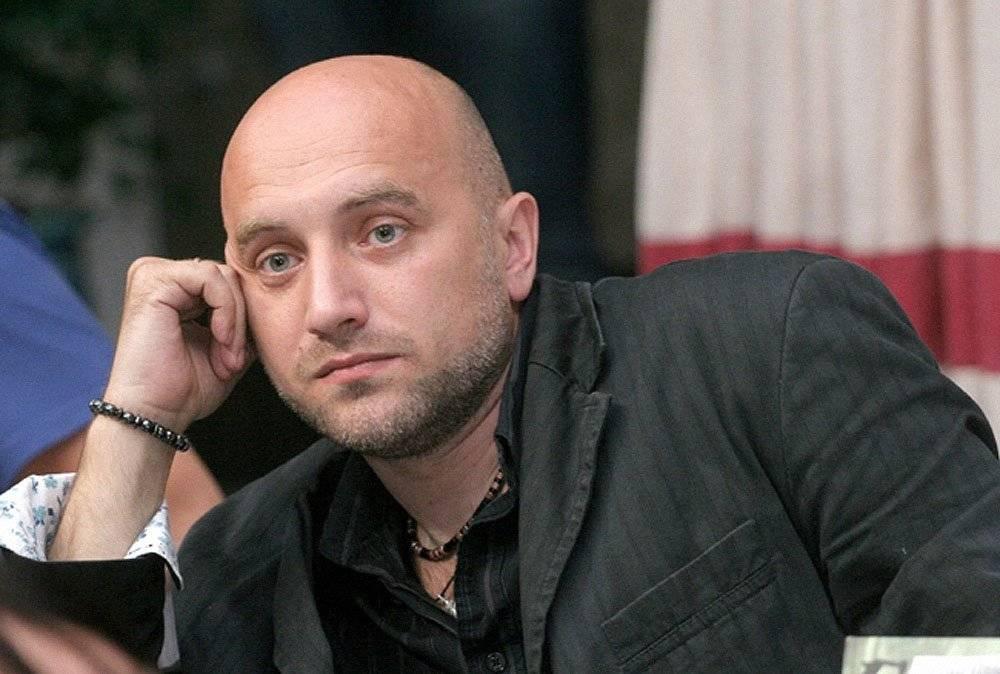 Прилепин: предложение Путина о референдуме ставит Украину на место