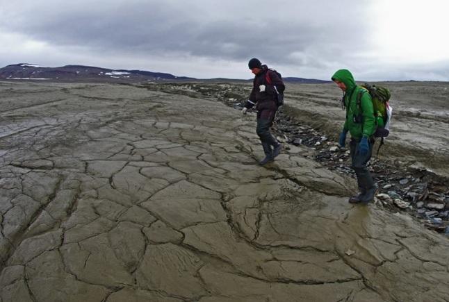 В Арктике исчезло озеро Усачева