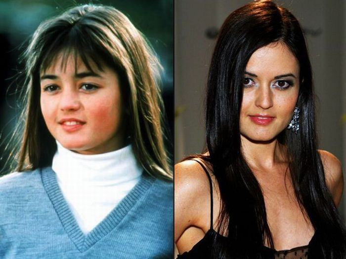 Знаменитости в детстве и сейчас знаменитости, сравнение