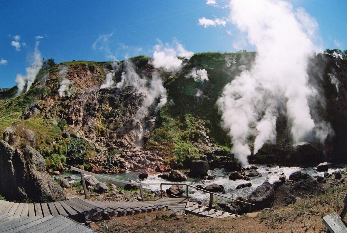 Долина гейзеров. Туристическая тропа