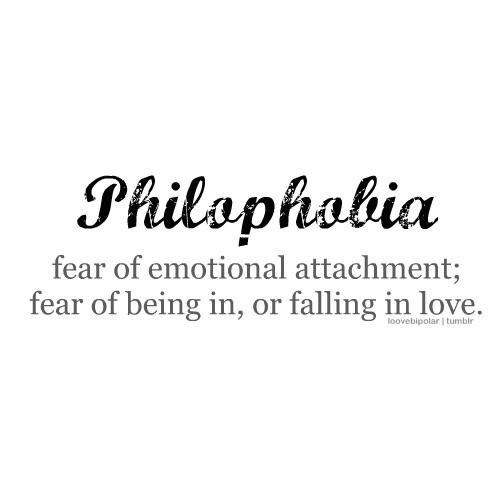 Филофобия