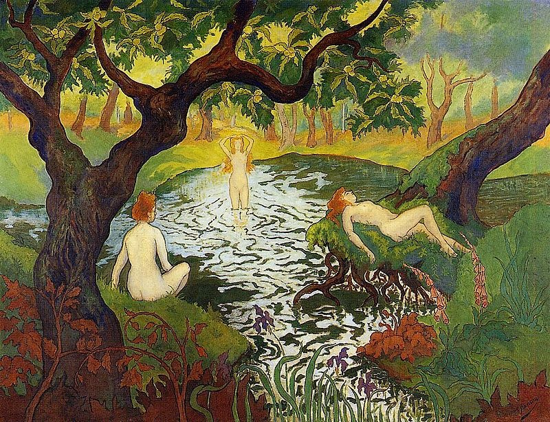 «И некая меж нас в тот миг возникла тайна…» Французский художник Paul-Élie Ranson (1864 – 1909)