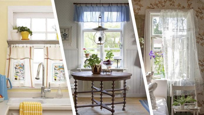 Как оформить окна на даче? – 10 душевных идей для создания уютного интерьера