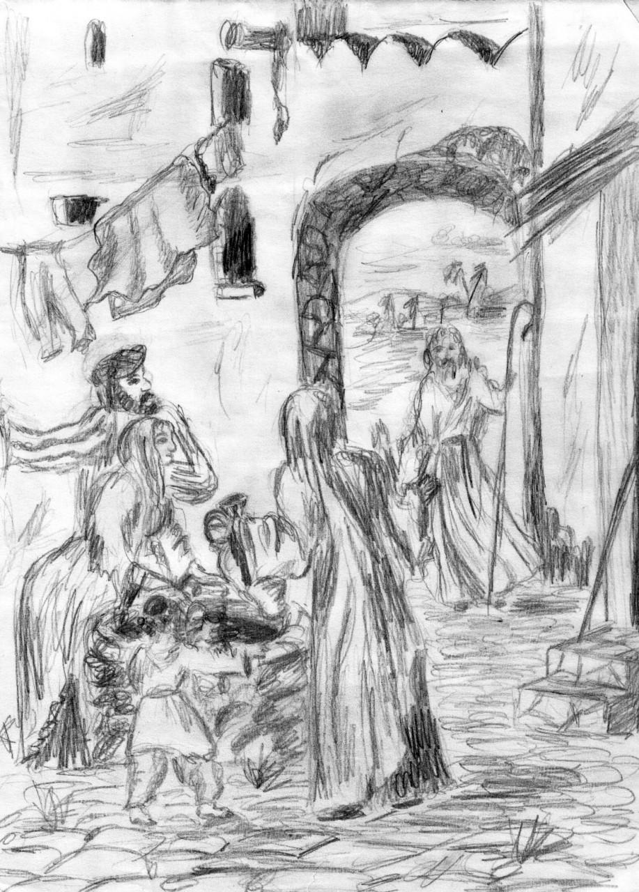 Пророк Елисей и рождество Иисуса