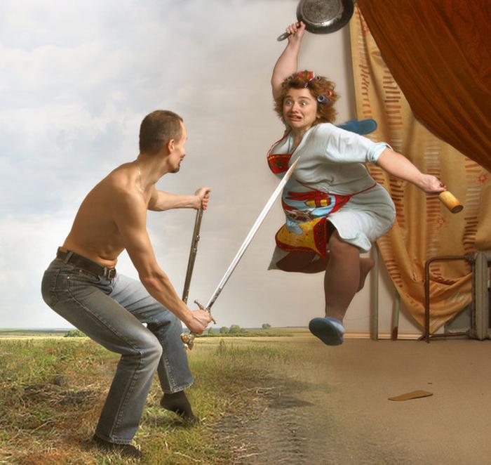 """""""Бои без правил"""", фотография Юлии Напольской"""