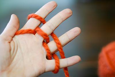 Мастер класс: вязание на пальцах (+видео)