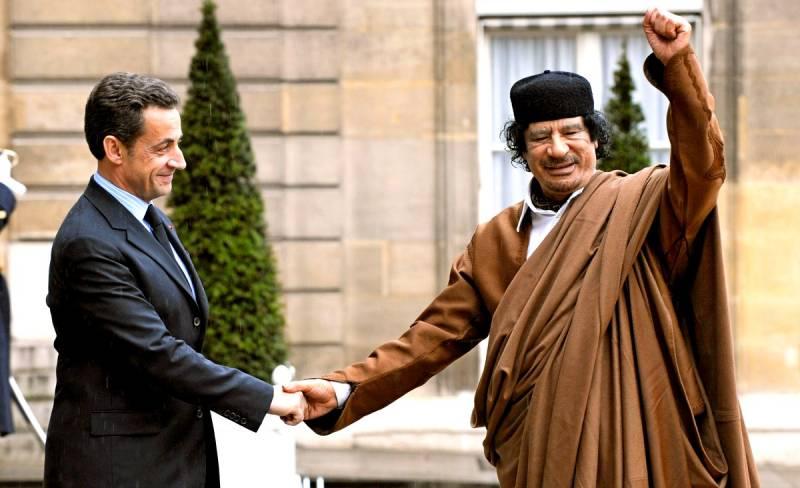 Саркози попался на деньгах К…