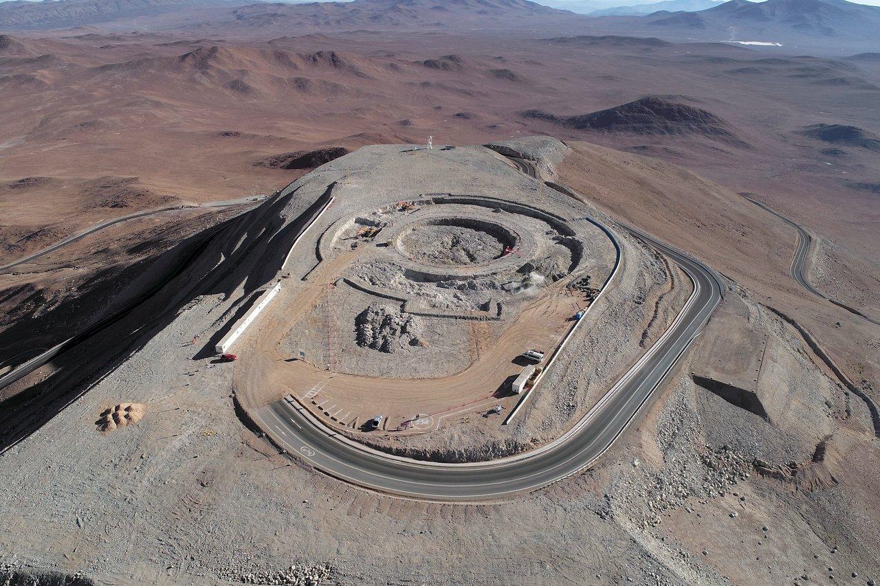 Начата закладка фундамента Чрезвычайно Большого Телескопа ESO
