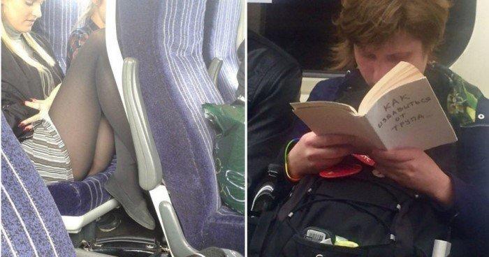Вот прочему я обожаю поездки в общественном транспорте