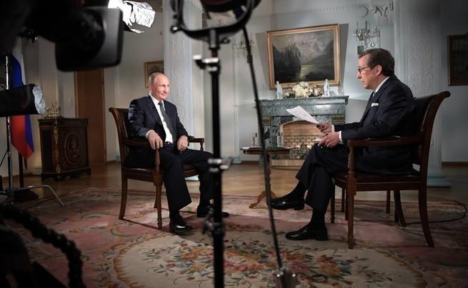 Владимир Путин: интервью аме…
