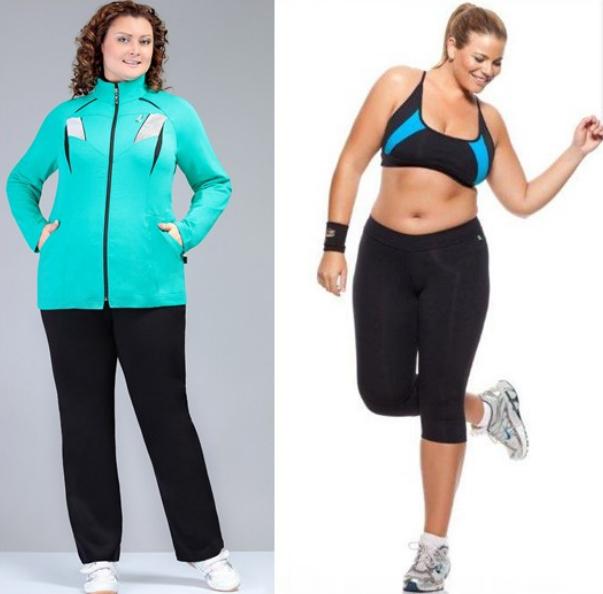Одежда Для Спорта Для Полных Женщин