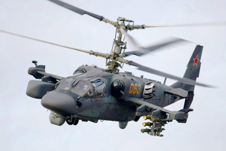 В Сирии разбился вертолёт Ка-52: есть погибшие