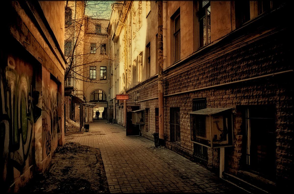Фото удивительных двориков Санкт-Петербурга
