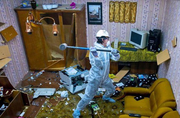 В Китае набирают популярность «комнаты гнева»