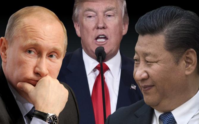 Все западные политики кричат — наказать Россию и русских, а Владимиру Путину скучно…