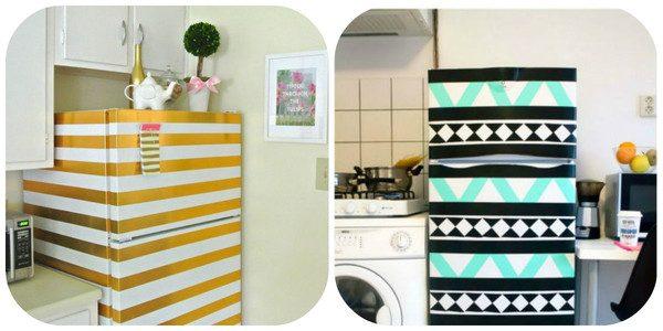 12 отличных идей для обновления старого холодильника