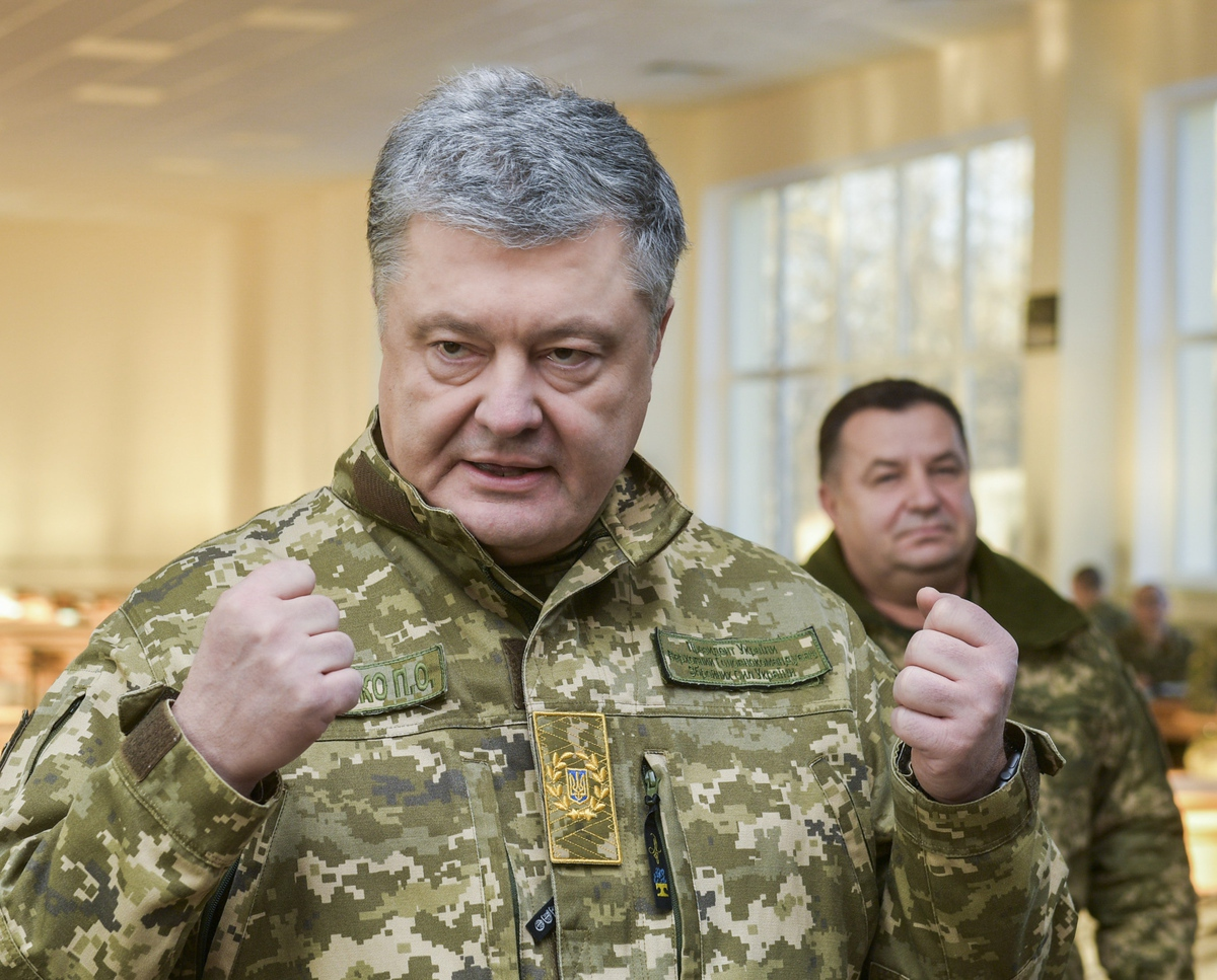 Порошенко внес в Раду законопроект о допуске на Украину иностранных войск