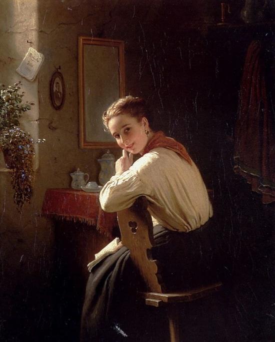 художник Иоганн Георг Майер фон Бремен (Johann Georg Meyer von Bremen) картины – 28