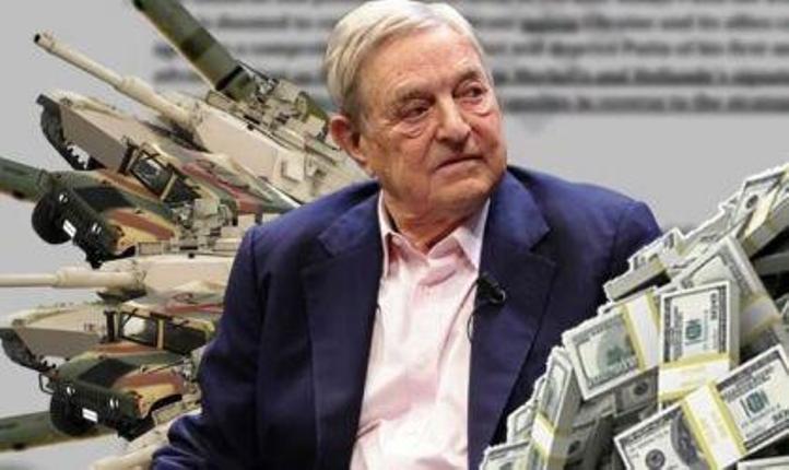 """Дж. Сорос: """"Для спасения экономики Запада нужно начать войну с Россией, причём срочно. Россия проиграет!"""""""