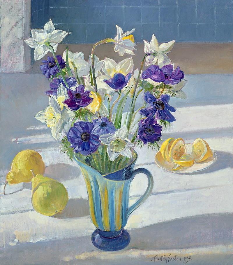 Симфония беспечного цветенья… Британский художник Timothy Easton