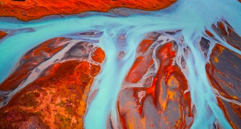 Завораживающие абстрактные фото Исландии, больше похожие на картины